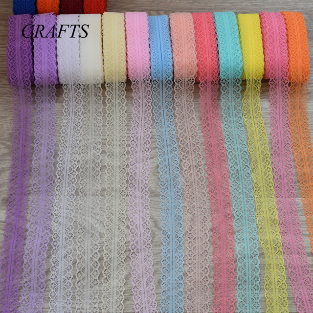 New! Free shipping sell  5-10 yards lace ribbon, gems pattern width 28mm, DIY jewelry, clothing, wedding decorations