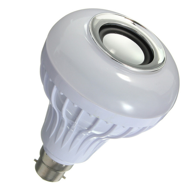B22 12W Bluetooth Speaker Light Bulb