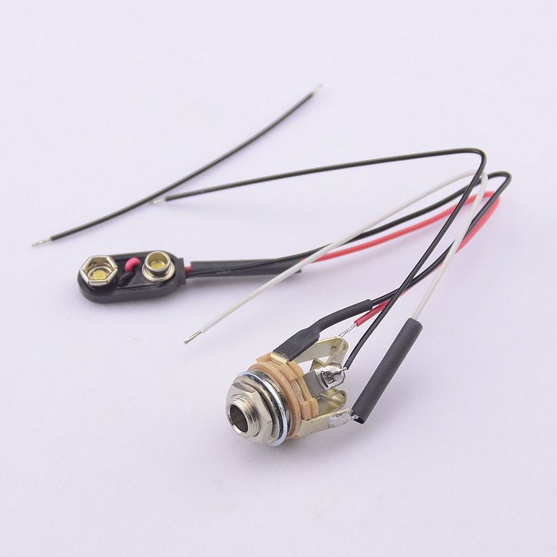 compare prices on guitar jack wiring online shopping buy low 1 piece usa switch craft short open electric guitar jack electric bass jack wire stereo