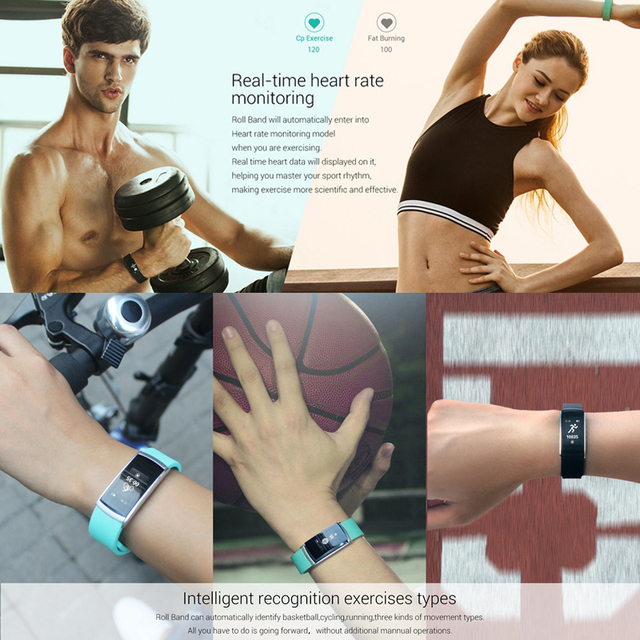 Original Iwown I5 Plus iwown i6 Pro Smart Bracelet Heart Rate Monitor Wristband Bluetooth Fitness Tracker For IOS&Android Phone