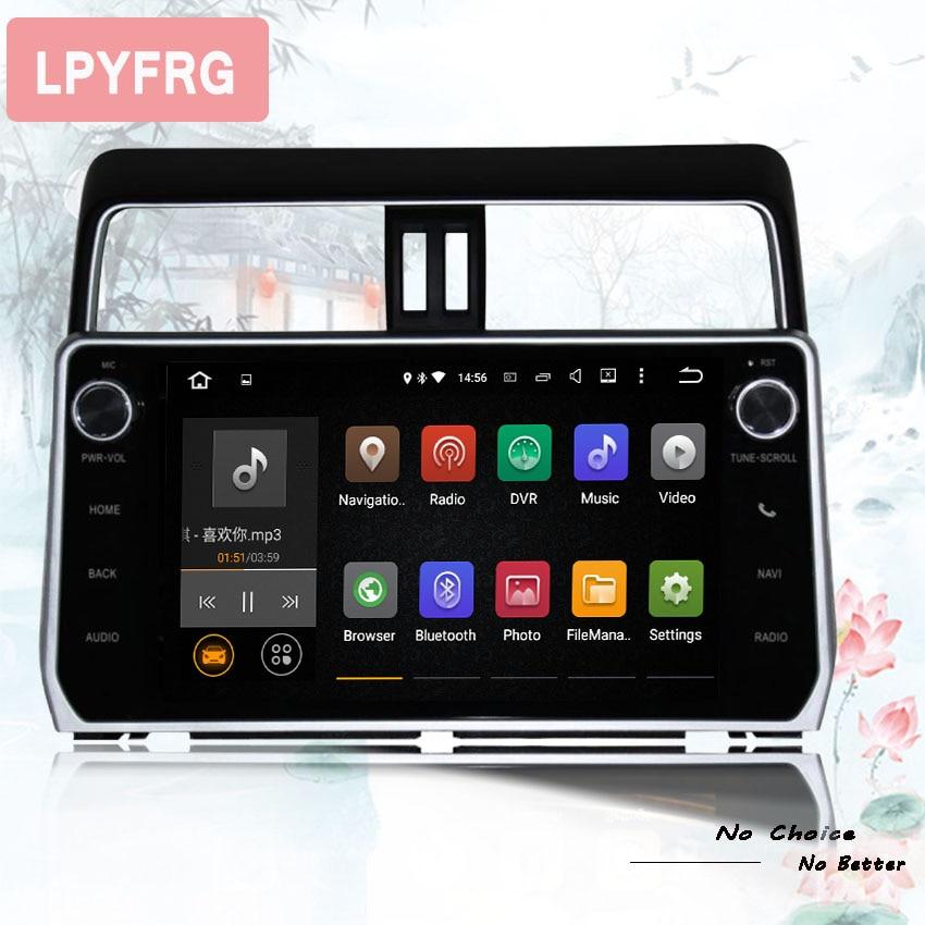 Autoradio Android 9 0 4GB Ram 64GB Rom Car Dvd Player For Toyota Prado LC150 2018