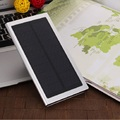 Super Thin Tipo Solar Power Bank 20000 mah Doble Salida USB