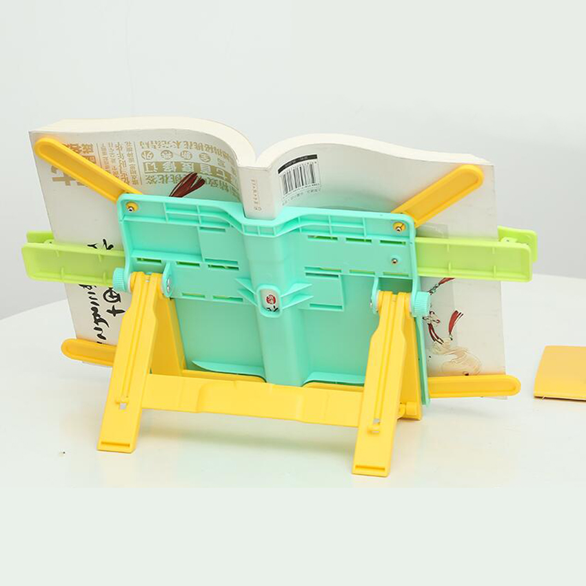 Portable Folder Tablet Bookends Tablature Bookend Book Stand Reading Book Holder Bookshelf Material Escola