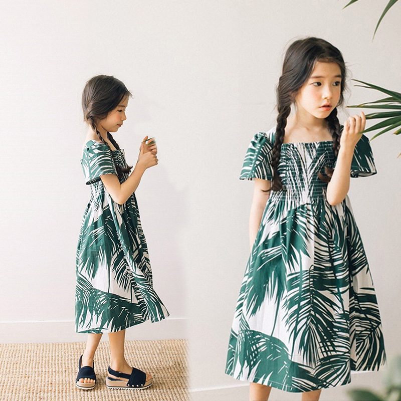 cotton kids dresses for girls 14 12 10 8 6 5 years holiday maxi long summer dress girl teenage beach children clothing 2018