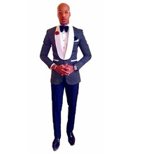 New Design Mens Suits Groom Tuxedos Groomsmen Wedding Party Dinner Best Man Suits Blazer (Jacket+Pants+Bow Tie) NO:1368