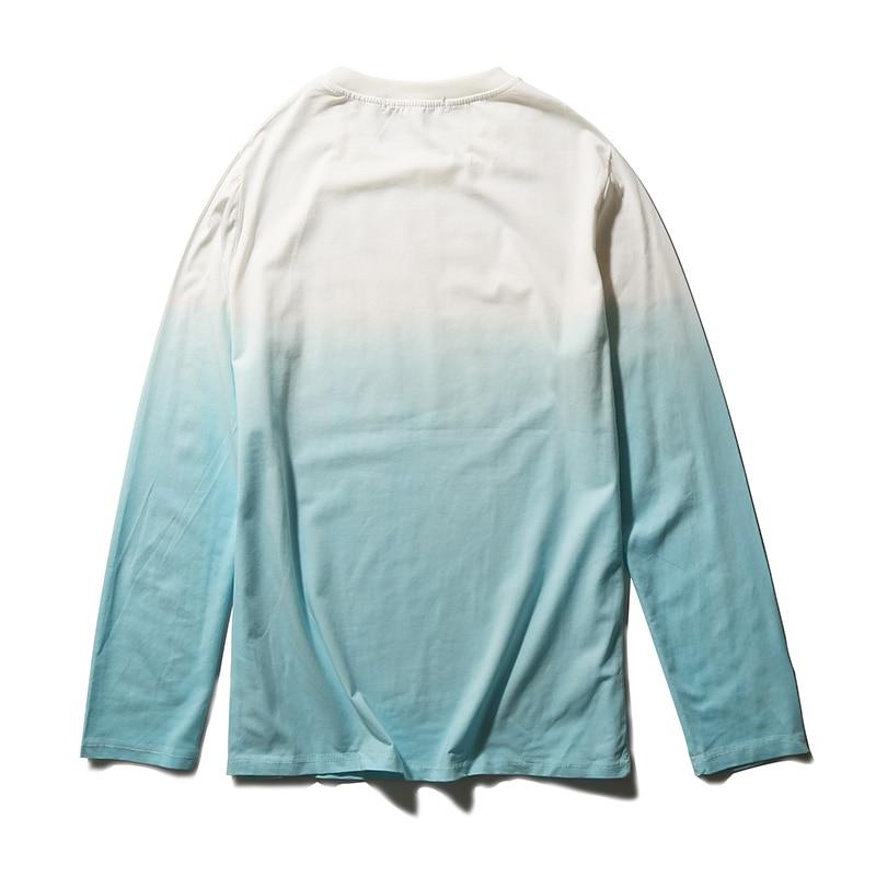 2017 New Design Men T Shirt High Quality T-Shirt Men Casual Printed Slim Fit T Shirts O Neck Long Sleeved Men Tops Clothes 5XL 2