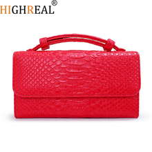 HIGHREAL Cowhide Genuine Leather Women Messenger Bags Crossbody Bag Female Fashion Shoulder Bags for Women Clutch Small Handbags