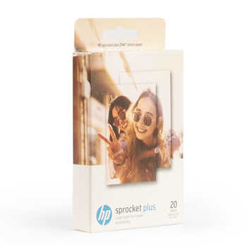 2 boxes (40 sheets) pocket Sprocket plus mobile photo printing paper ZINK photo paper 5.8*8.6cm Printer photographic paper