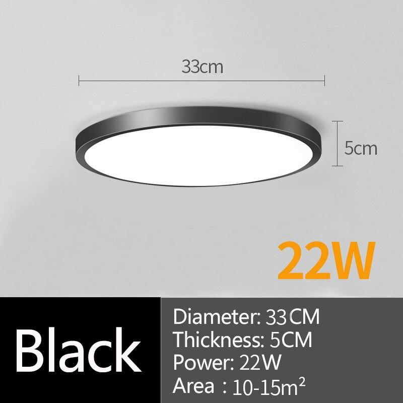 22w black