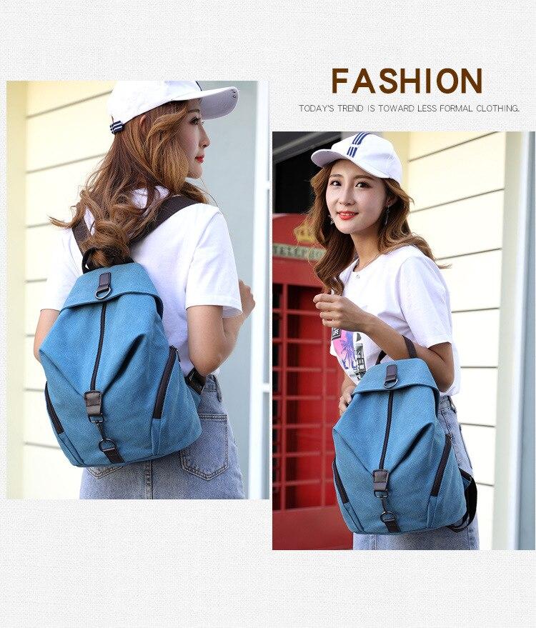 HTB1oVm3X.zrK1RjSspmq6AOdFXaz QINRANGUIO Women Backpack Fashion Canvas Backpack Large Capacity School Bags for Teenage Girls Backpack Female Backpack Women