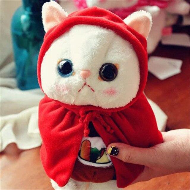 Новые Каваи чучела плюшевые японии choo choo cat игрушки девочка дети день рождения святого валентина подарок прекрасный кукла Triver Игрушки