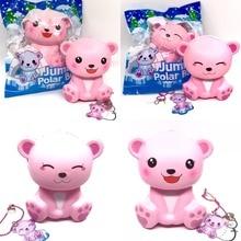 JumBo Polar Pear Squishy Slow Rising Soft Kawaii Squishies Darilo za otroške igrače