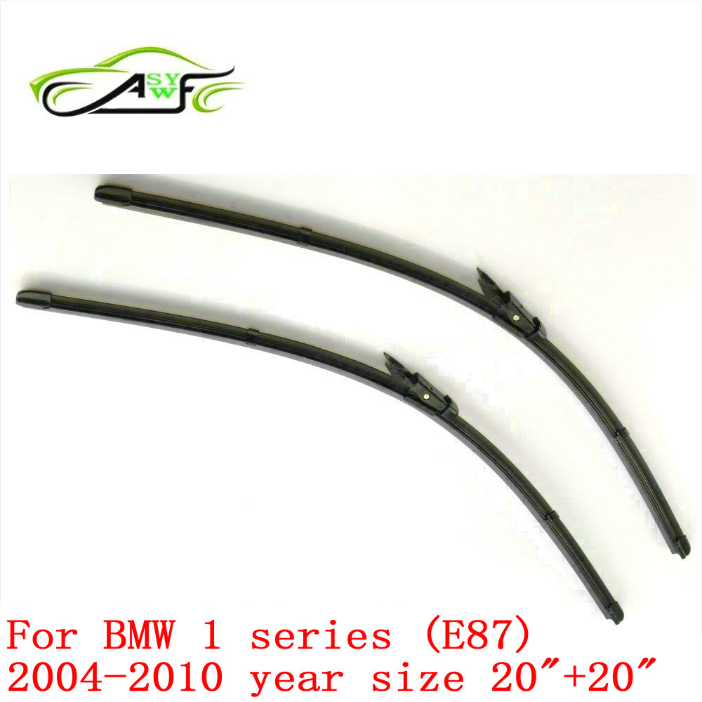 f68c0a9811c6 Free shipping car wiper blade for BMW 1 series (E87) (2004-2010) 20+20  Pinch Tab WindShield Wiper Blade 2pcs PAIR