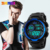 Skmei esportes relógios de marca top de luxo homens do exército militar led relógio digital relógios de pulso fresco dos homens relogio masculino relojes 1113