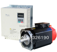 Spindle Servo Driver and motor 5.5kw,3ph,380V (3ph, 220V are optional)