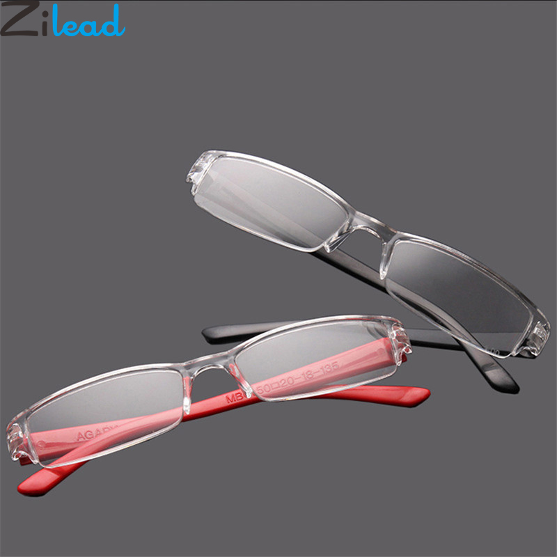 Zilead Ultralight Resin Reading Glasses Eyebrows Presbyopia Glasses Anti-fatigue Clear Lense For Men Women Eyewear