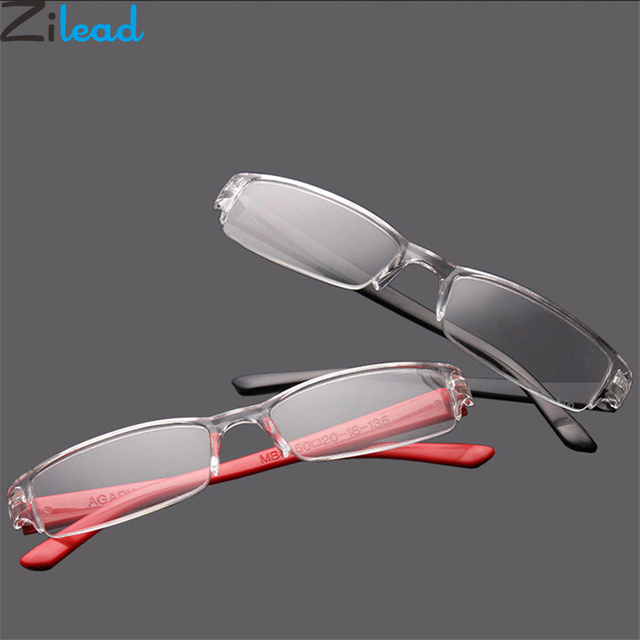 Zilead Ultralight Resin Reading Glasses Eyebrows Presbyopia Glasses Anti-fatigue Clear Lense For Men Women Eyewear