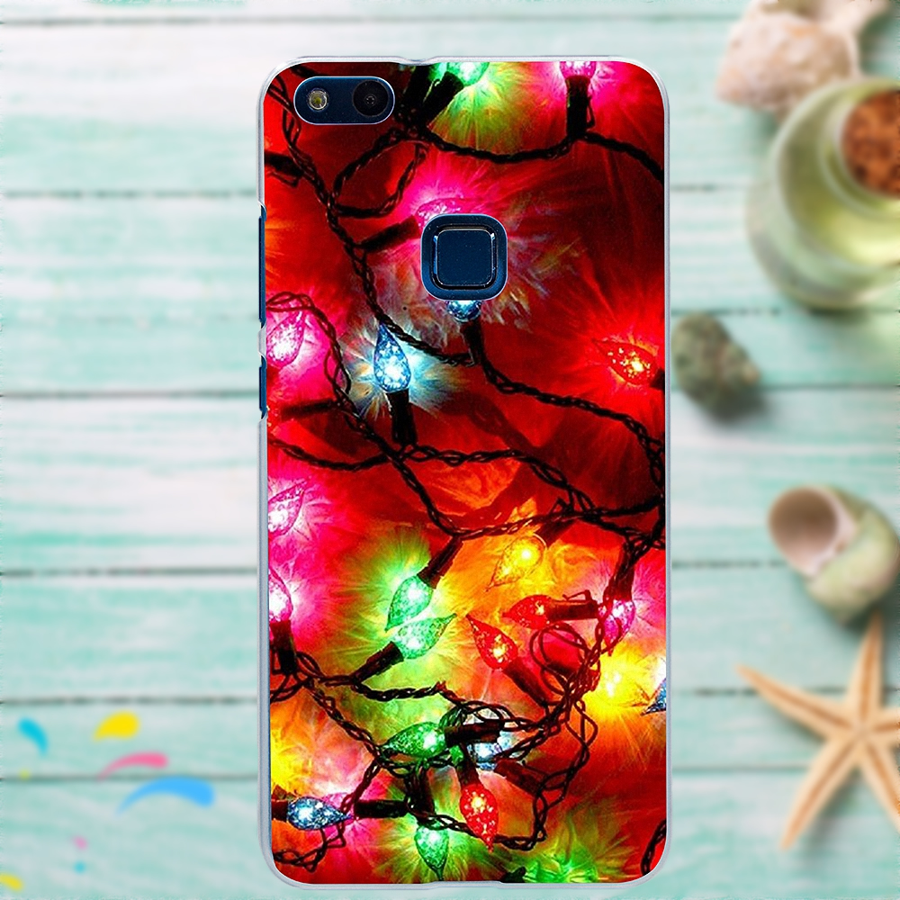 Silicone Case For Huawei G7 G8 Honor 5A 5C 5X 6 6X 7 8 V8 Mate 8 9 P7 P8 P9 P10 Lite Plus Christmas Tree Rick And Morty