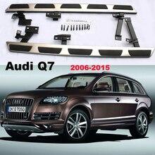 Для Audi Q7 2006-2015 Автомобиля Подножки Подножка Бар Педали Высокое Качество Новый Оригинальный Моделей Nerf бары