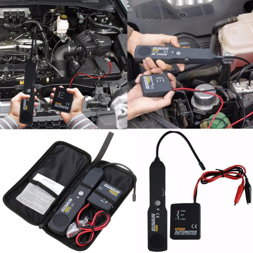 Breakpoint Locating Automotive Short and Open Circuit Tester with Flexible Probe for Wire Checking