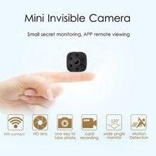 Invisible Night Version 1080P Wifi Mini Camera Wireless for Motion Detectiom Video Recording Remote Surveillance hidden TF card