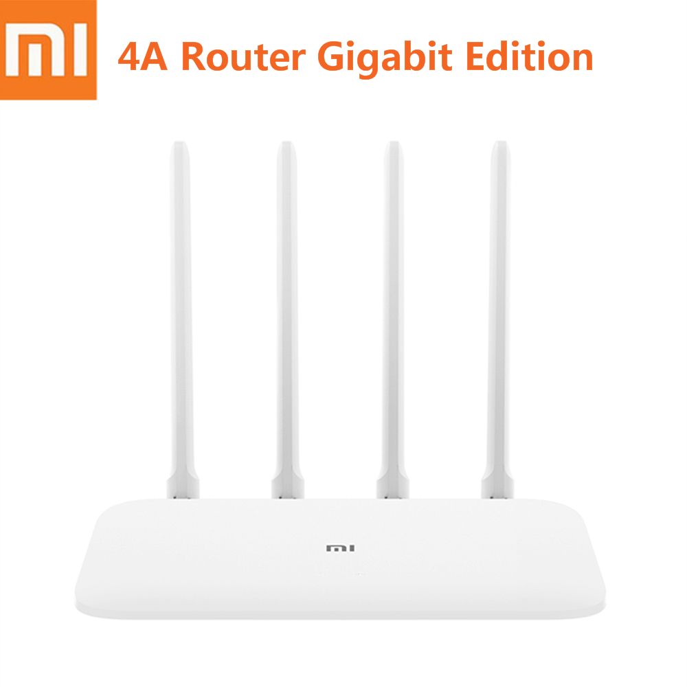 Xiaomi Wireless Router Support Gigabit-Edition Wifi 4-Antenna 5ghz Ipv6 128MB 16MB 4A