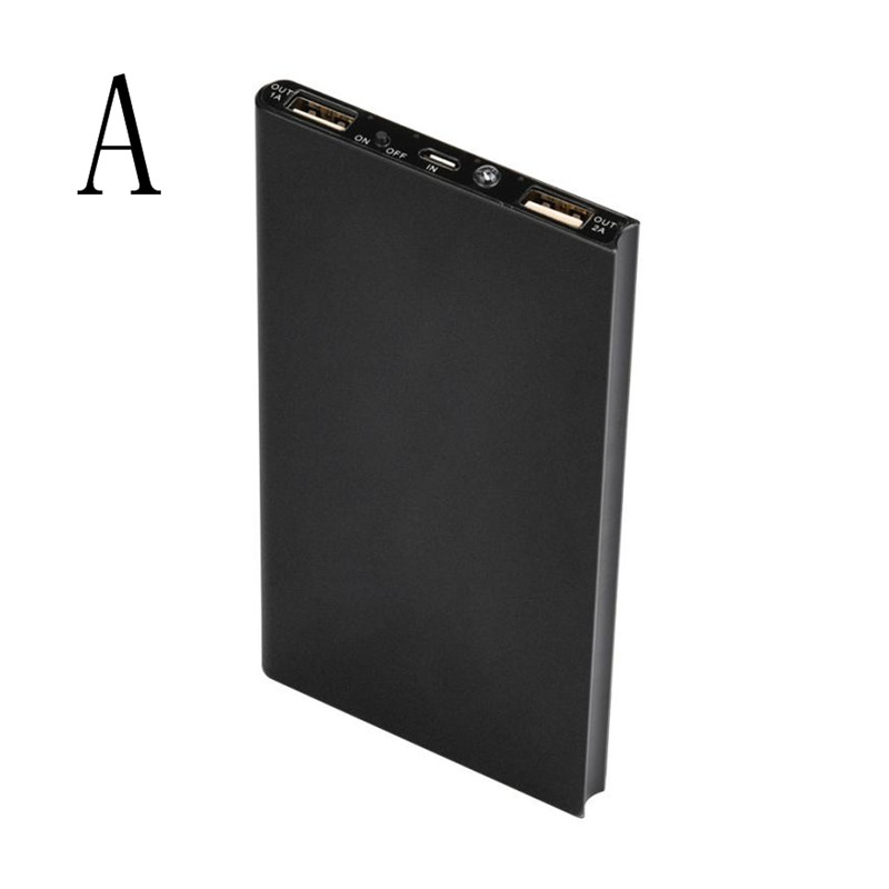 8000mAh Portable Cell Phone Pack Backup External Battery Power Bank Charger