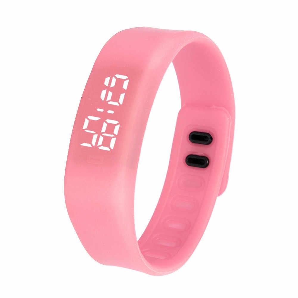 レディースメンズ腕時計 LED スポーツ腕時計ブレスレットデジタル腕時計リロイ akll saat чаы ж リロイデジタル mujer relojes パラ mujer
