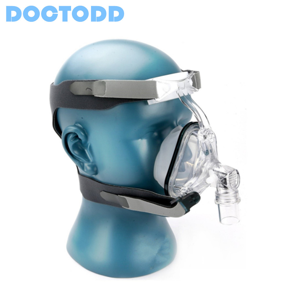 Doctodd NM1 Nasal Mask With Headgear For CPAP Auto CPAP APAP Bipap BPAP Respirator Sleep Snoring Therapy Size(S/M/L) new cpap headgear replacement fit for respironics comfort gel nasal mask head band