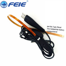 RIC BTE CIC Programming cable Dedicated line programmable cable compatible for all RIC BTE CIC hearing aids free shipping cheap FEIE hearing aid cable 1 year hearing aid accessories wire cable feie hearing aid programming cable programming cable wire