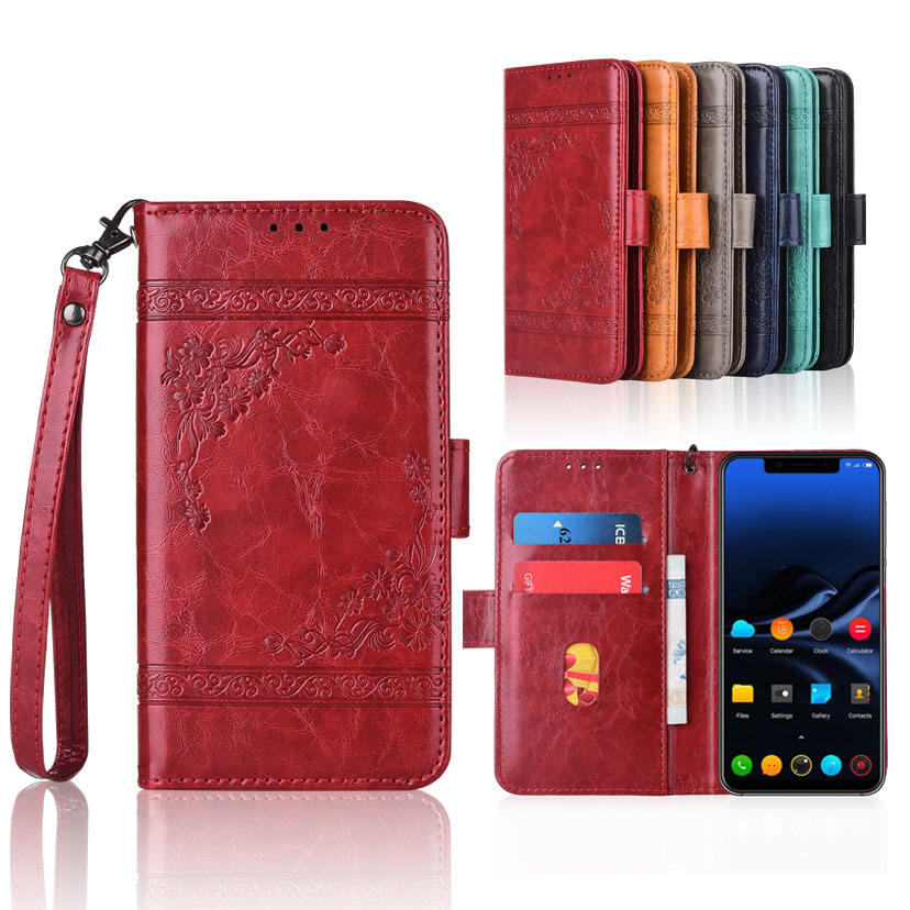 Wallet Cases Forceful Wallet Case For Glofiish Gpad U Case With Strap,100% Special Pu Leather Patterned Floral Flip Case