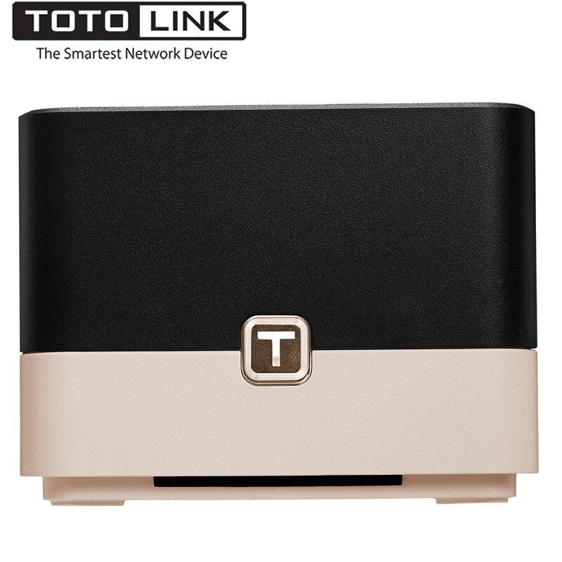 TOTOLINK T10 Dans Toute La Maison Maille Réseau Sans Fil AC1200 Double Bande Bureau Wi-Fi Routeur, Haute Vitesse Maille Système Sans Fil Wifi répéteur