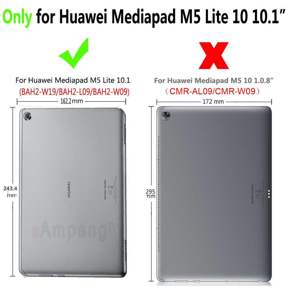 """Temperli cam için Huawei Mediapad M5 Lite 10 10.1 """"BAH2-W09/L09/W19 Tablet ekran koruyucu 9H sertleştirilmiş koruyucu Film Guard"""