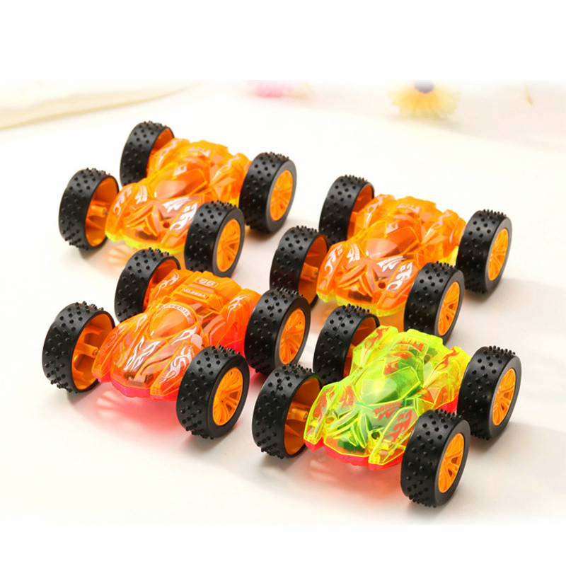 hot sale funny flashing led light stunt model car electric miniature toy cars kids toy childrens gift diecast toy vehicles