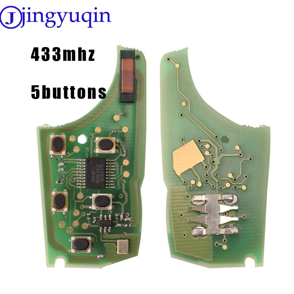 jingyuqin 434Mhz Car Alarm Remote Key Circuit Board Electronic for Chevrolet Malibu Cruze Aveo Spark Sail
