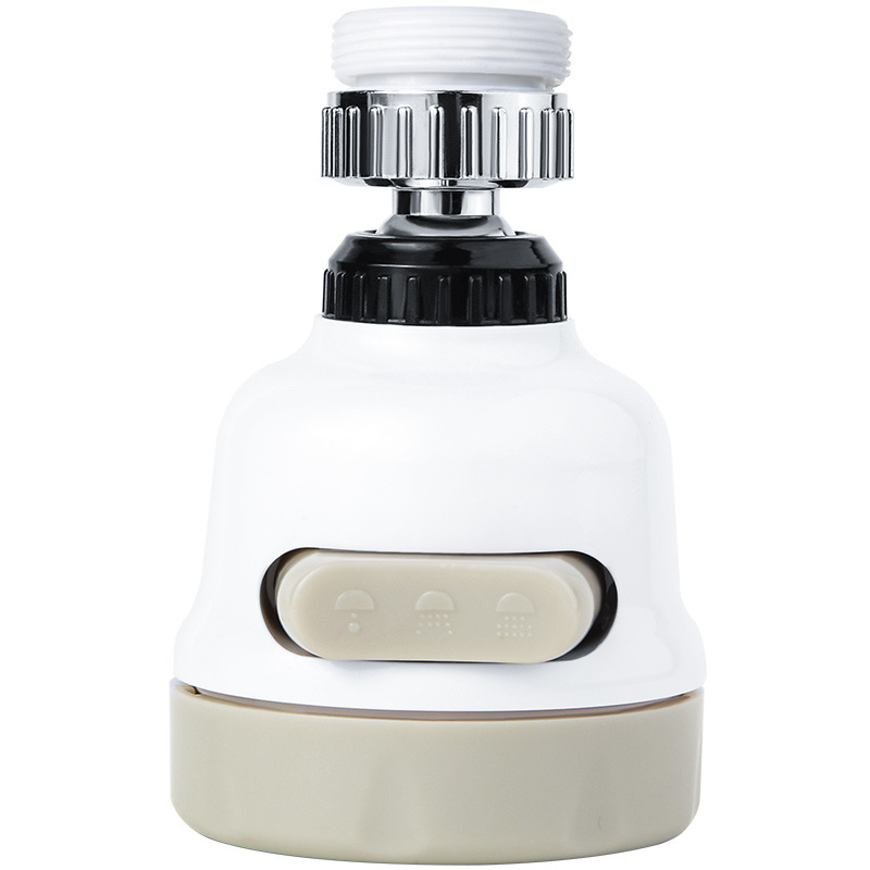 Tap Water Booster Shower Head Kitchen Bathroom Multifunctional Plastic Household Filter Faucet Water Saving Device