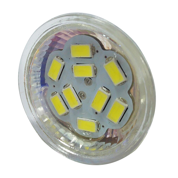 DSHA Hot Sale 4W GU4(MR11) LED Spotlight MR11 9 SMD 5730 430 lm DC 12V, White цена