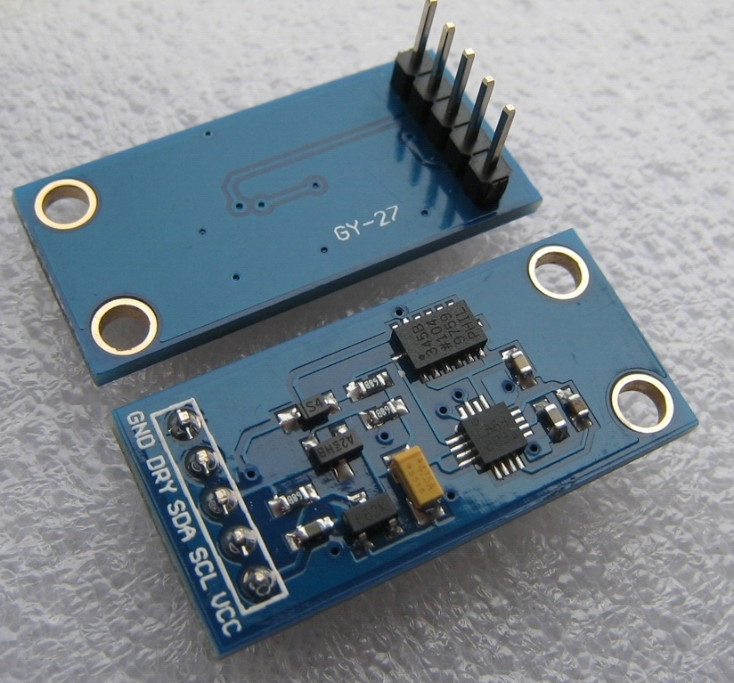 GY 27 Three Axis Compass Module Angle Module HMC5883L Module