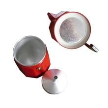 TINTON LIFE 3 Colors Italian Stove Top/Moka Espresso Coffee Maker/Percolator Pot Tool 9 Cup