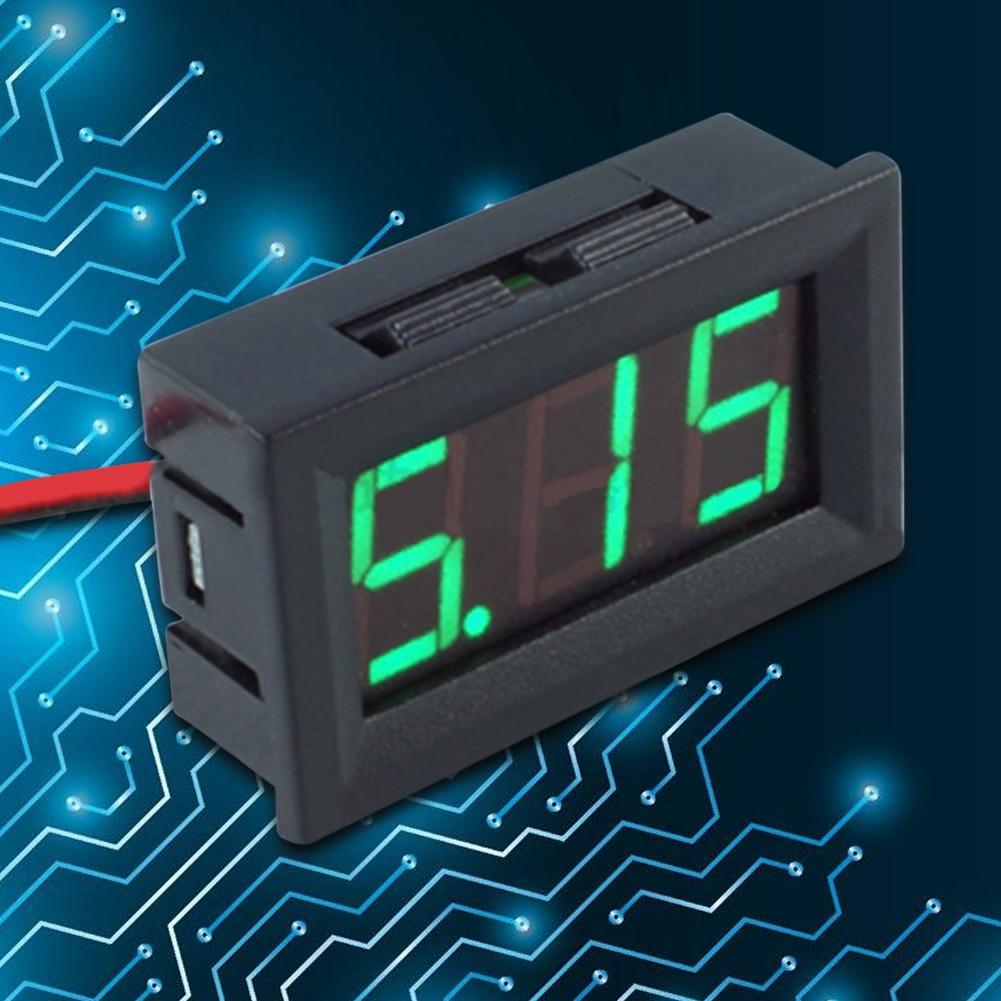 Skaitmeninis nuolatinės srovės voltmetro ampermetras 0.56 colių - Matavimo prietaisai - Nuotrauka 4