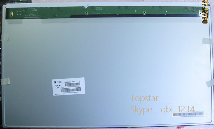 Original A+ Grade FOR BOE 23.0 inch HR230WU1-400 HR230WU1 400 IPS 4 strings WLED lcd panel display ...