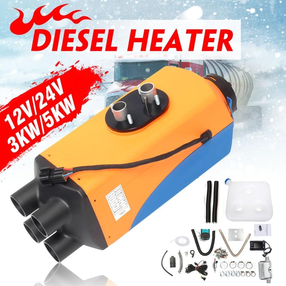 Autoleader 12 В/24 В 3KW/5KW автомобиля Air Дизели нагреватель для прицеп, дом на колесах парковка нагреватель с Дистанционный пульт с lcd экран дисплей