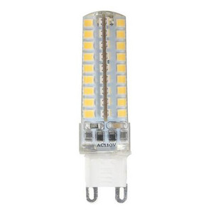 Image 2 - 50 יחידות מיני G9 מנורת LED 10 W ניתן לעמעום AC220V/110 V 2835 SMD 72LED נברשת אור הנורה תירס לבן חם/לבן משלוח חינם