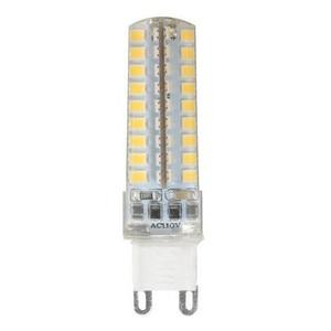 Image 2 - 50pcs Mini G9 LED Lamp 10W Dimmable AC220V/110V   2835 SMD 72LED Chandelier Corn Bulb Light Warm White/ White Free Shipping