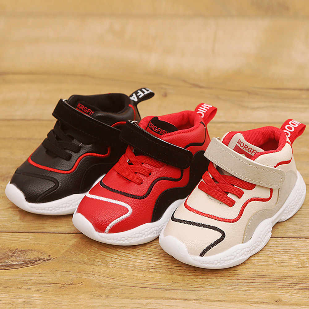 7c6df100b564 MUQGEW Hot sale Toddler Children Kids Baby Sport Running Shoes Letter Mesh  Shoes Sneakers Dropshipping