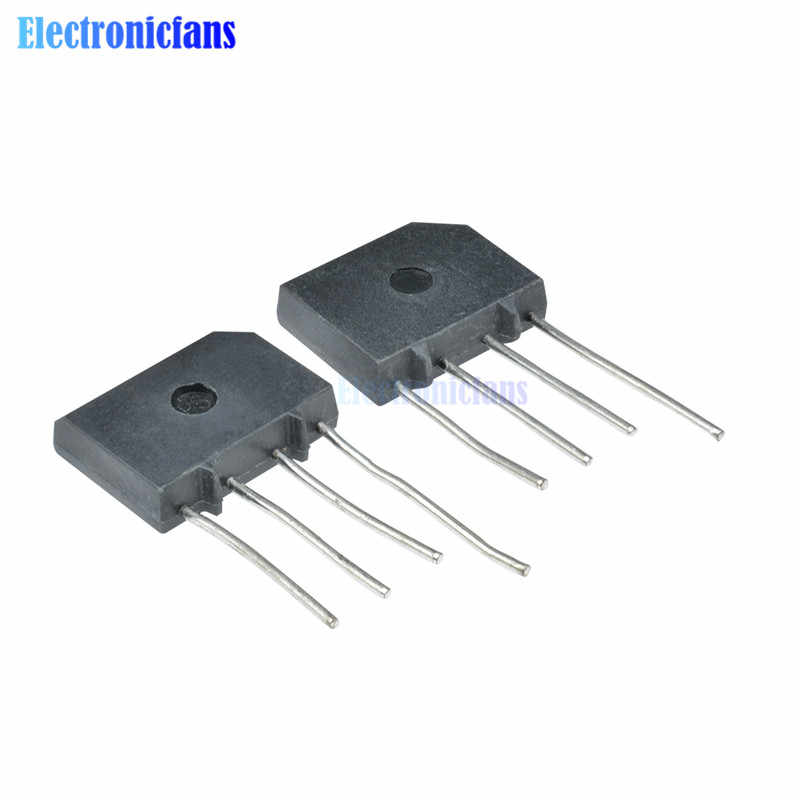 10PCS KBP310 SIP-4 3A 1000V Diode Bridge Rectifier Single Phase Bridge Rectifier Neue Ankunft
