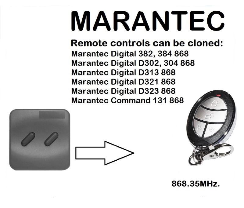 MARANTEC Digital D313 868 Universal Remote Control Duplicator 868.35MHz.MARANTEC Digital D313 868 Universal Remote Control Duplicator 868.35MHz.