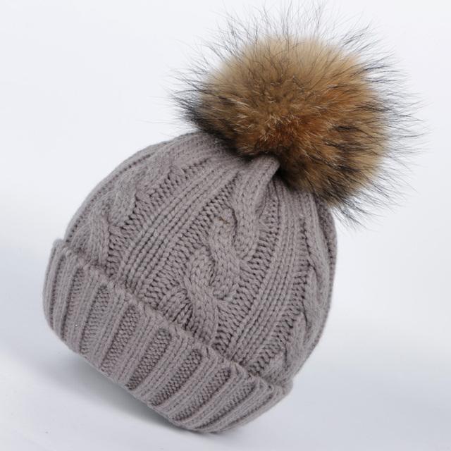 2016 tampão do inverno sólidos mulheres gorros chapéus para as mulheres pom pom chapéu chapéus de inverno para as mulheres