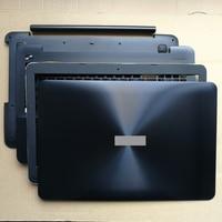 Capa lcd com parte superior para laptop  cobertura completa para asus pro x555 y583 f555 k555 w509 f554l r556l vm510 �� fl5600l fl5800l 15.6