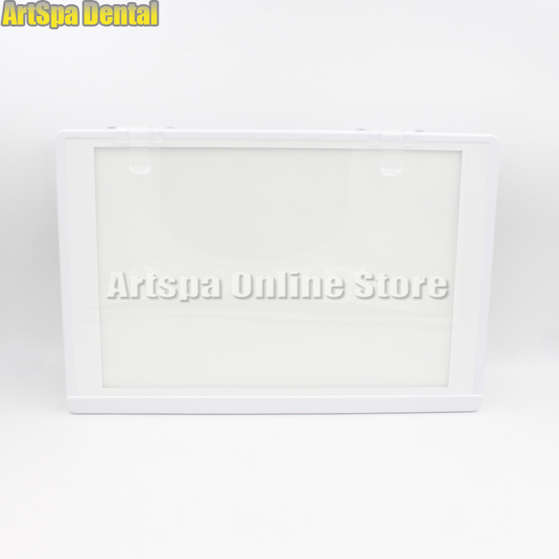 Dental X-Ray Film Illuminator Light Box X-ray Viewer LED Light Panel A4 Free Shipping 100 pcs dental x ray film size 30 x 40mm for dental x ray reader scanner machine